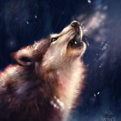 Bela rodrigues wolf study