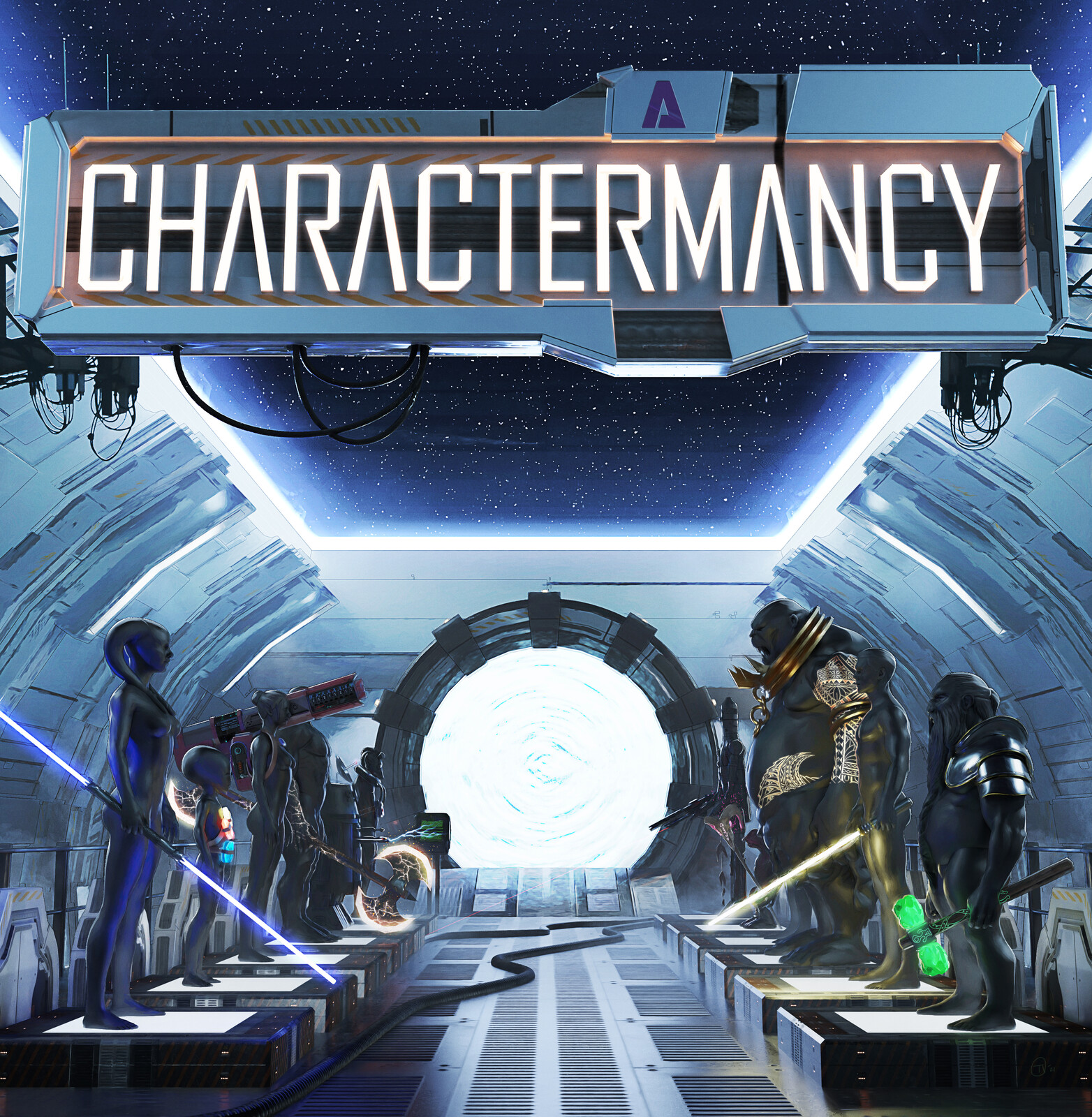 Cover Art - Charactermancy