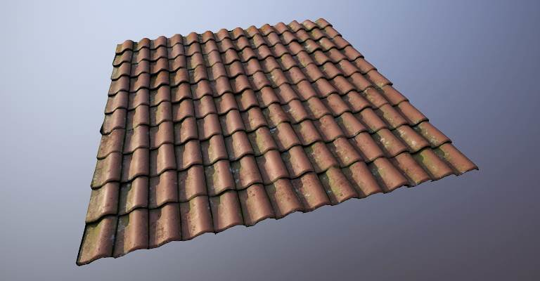 Asset - City 17 Apartment - Roof Tiles