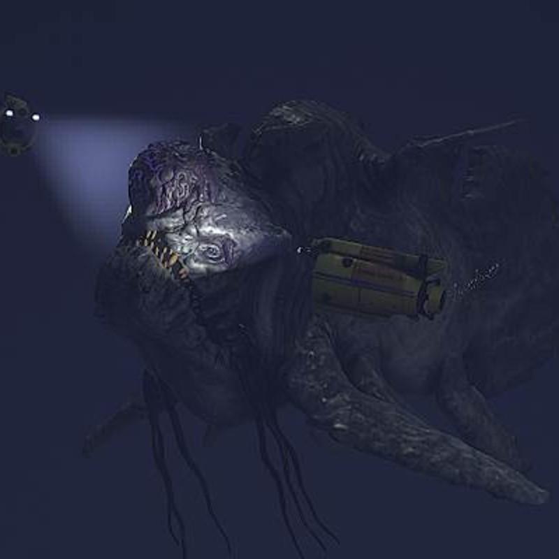 Big Fish - Marmoset Toolbag 2 viewer fog test