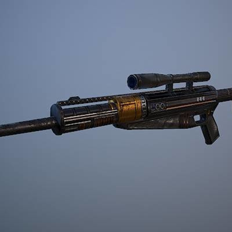 SWG - Old Republic Mandalorian Sniper Rifle