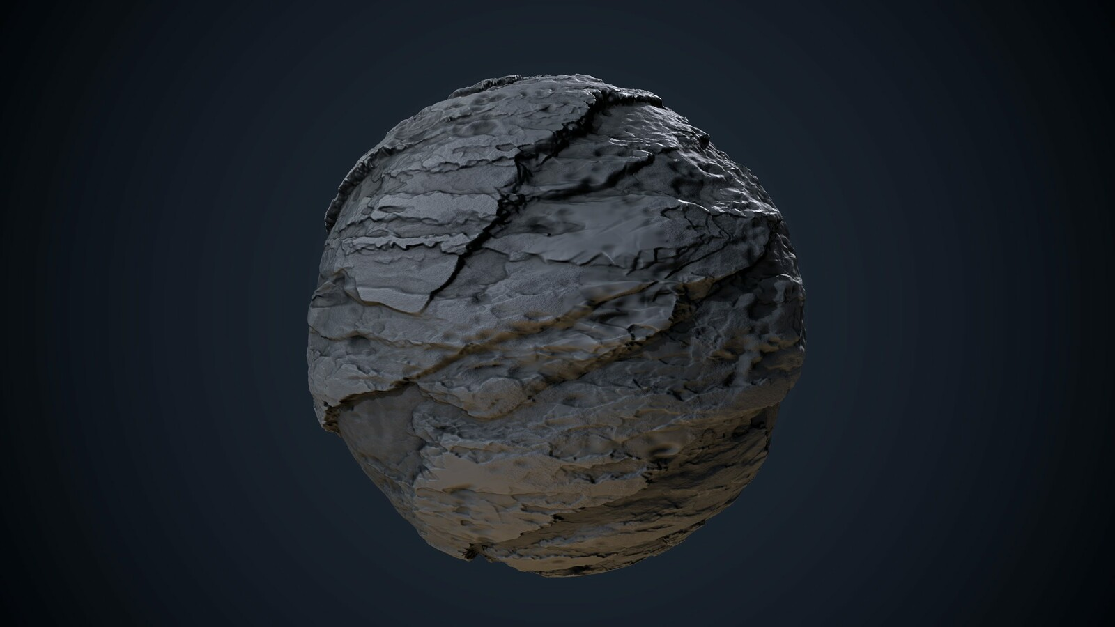 Grey Cliff Substance Material