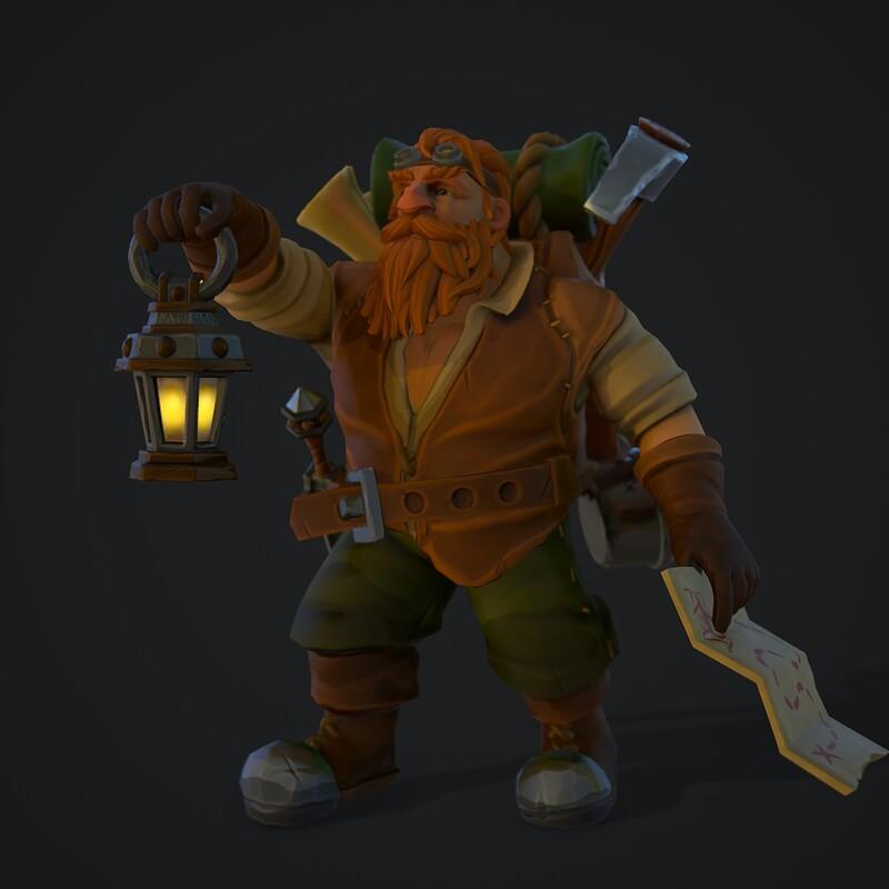 Dwarven Explorer