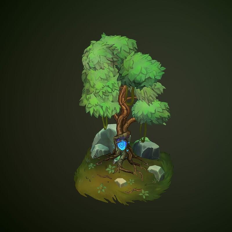 Crystal Embedded Tree
