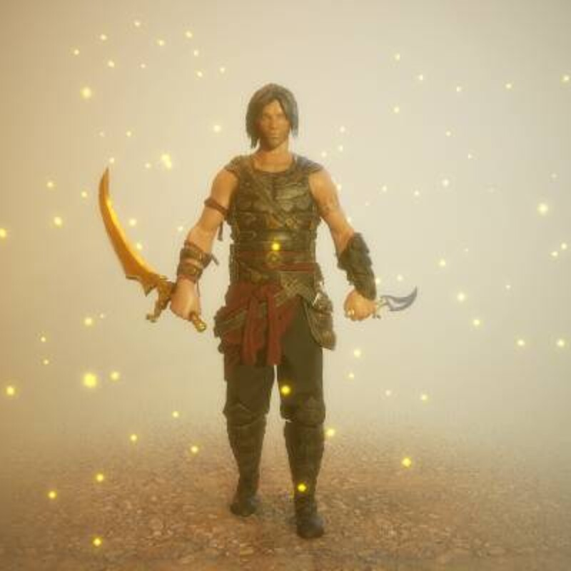 Prince Of Persia Fan Art Realtime