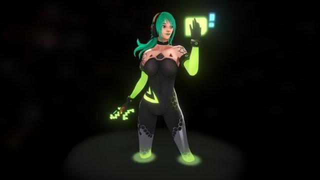 Nvidia Girl