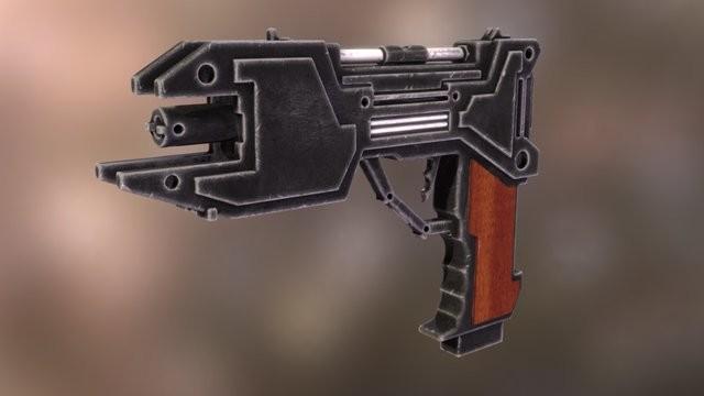 Cyberpunk Handgun