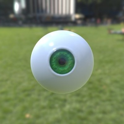 Green Eyeball