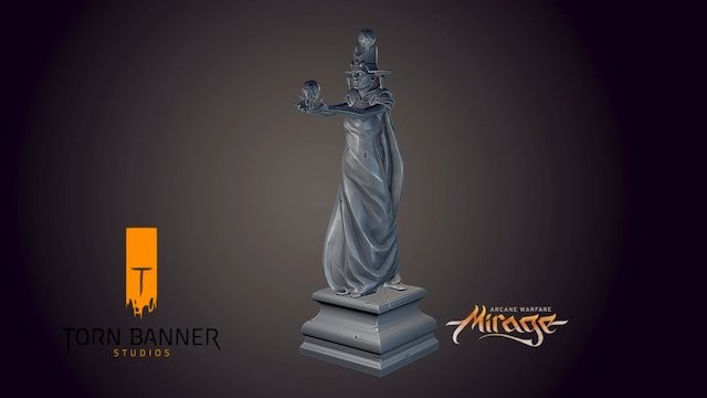 Mirage: Arcane Warfare Statue
