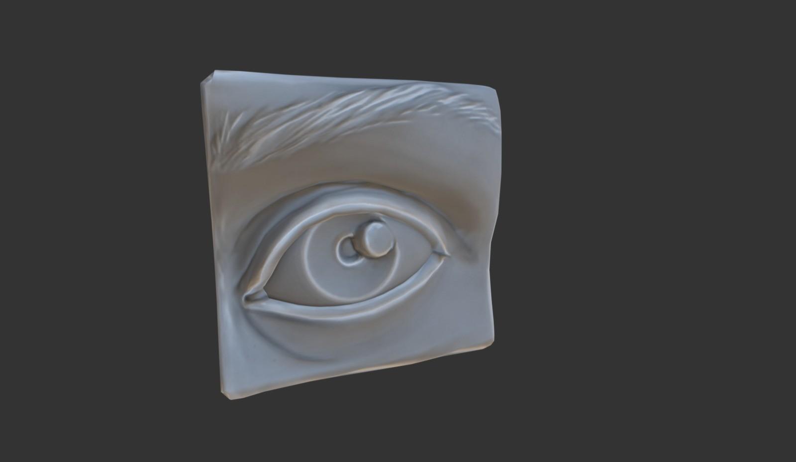 Anatomy Study - Eye