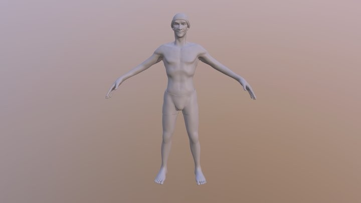 Male in A-Pose
