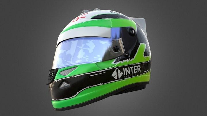 Nico Hulkenburg F1Helmet