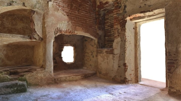 Ruins of a nuns' cell