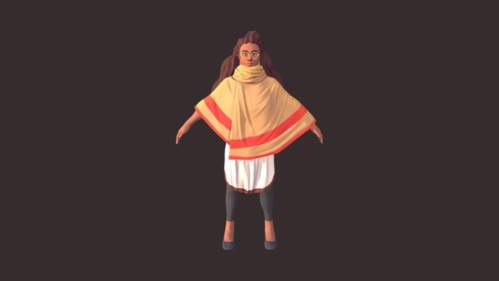 Joyce Mittal Character model