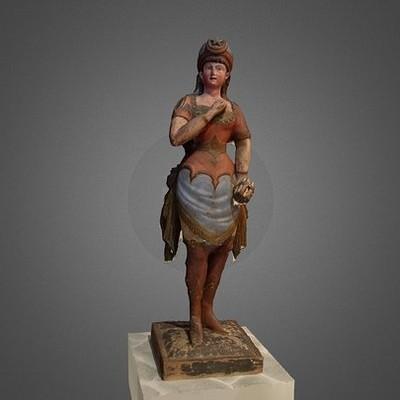 Tobacco Figurine