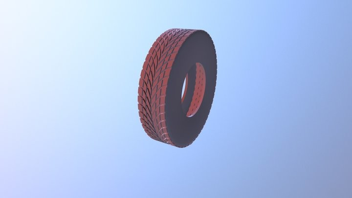 Hi-Poly Tire model