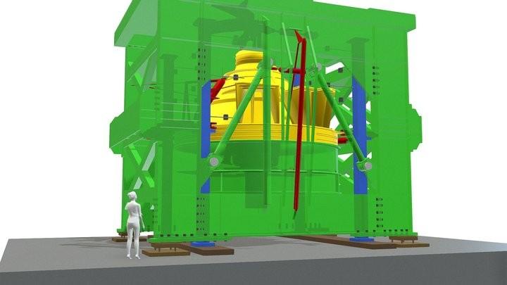 Ariane Motorframe testing