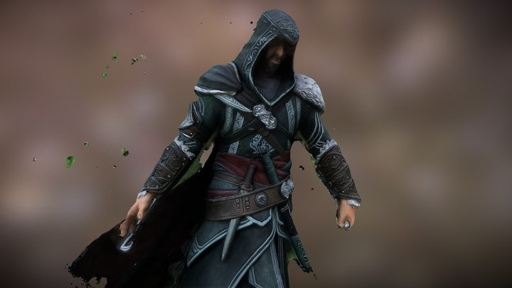 Ezio 3D Scan [Test]