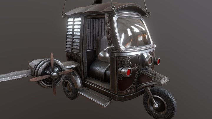 Auto Flying Rickshaw