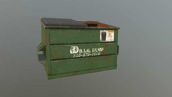 Dumpster Prop