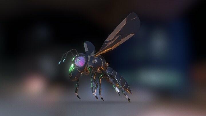 Tech Hornet / Concept Art