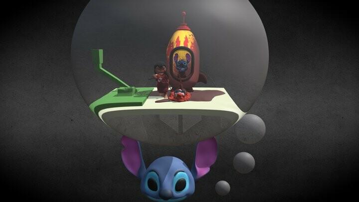 Mertle, Lilo and Stitch