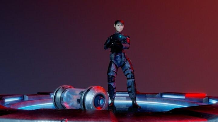 Diorama - Sci-Fi Scene