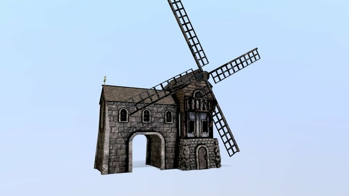 Medieval Cityscape in Unity3D