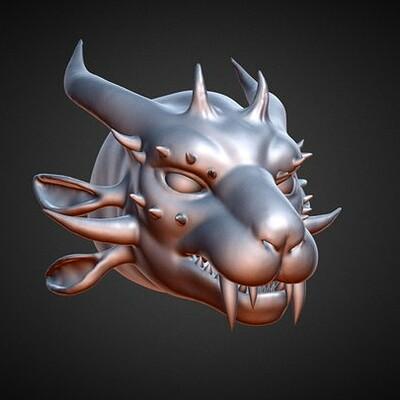 Valynxia Drakemend - Practice Sculpt