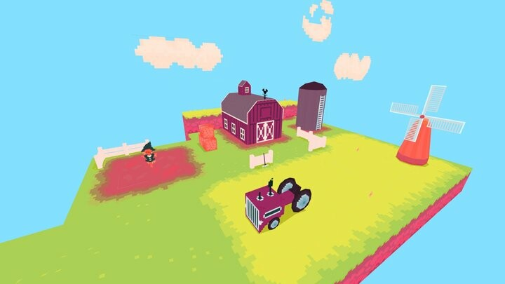 LowPoly Farm