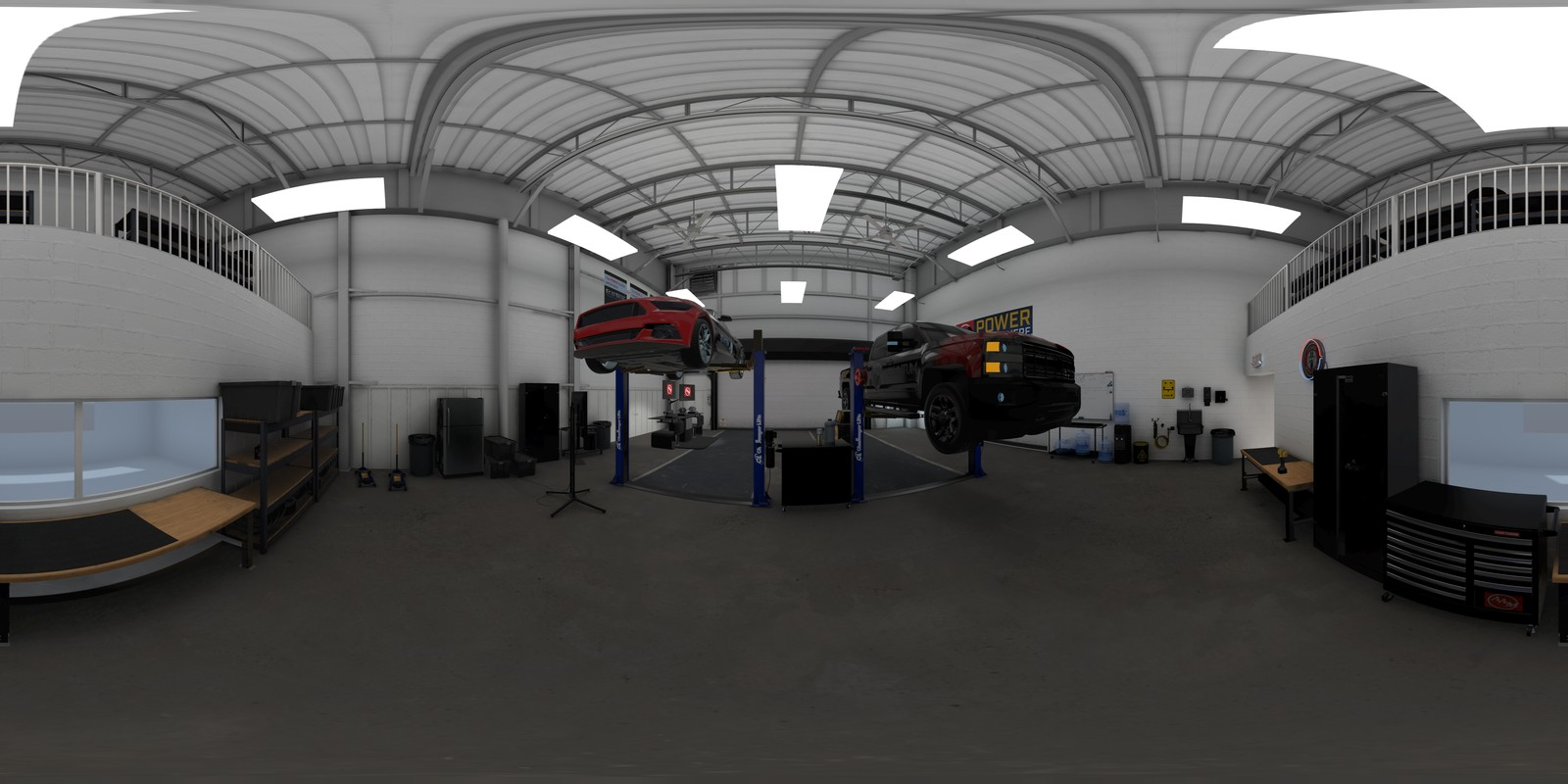 AAM Wintertest Garage Demo