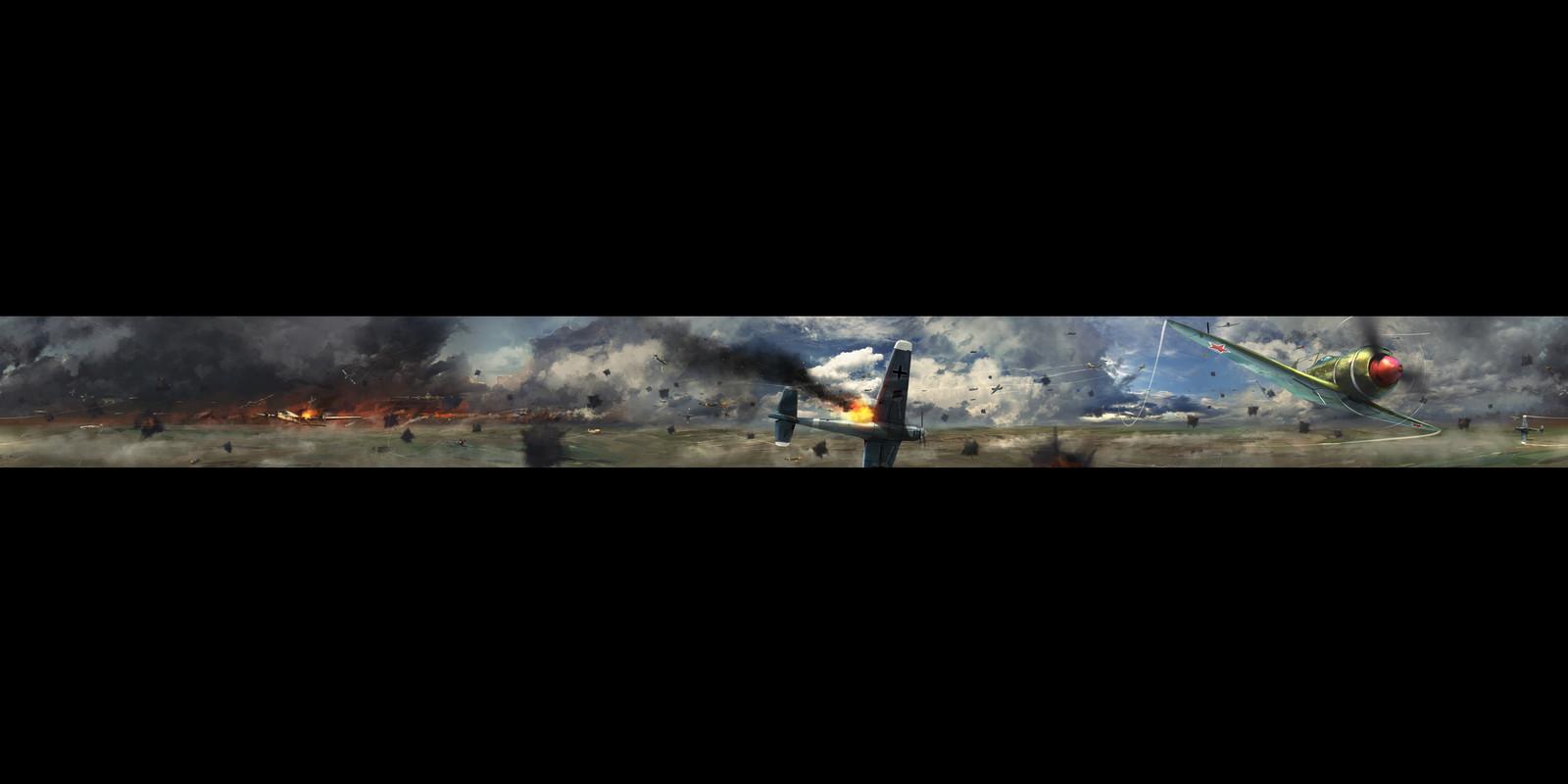 Sky Battle keyframe art