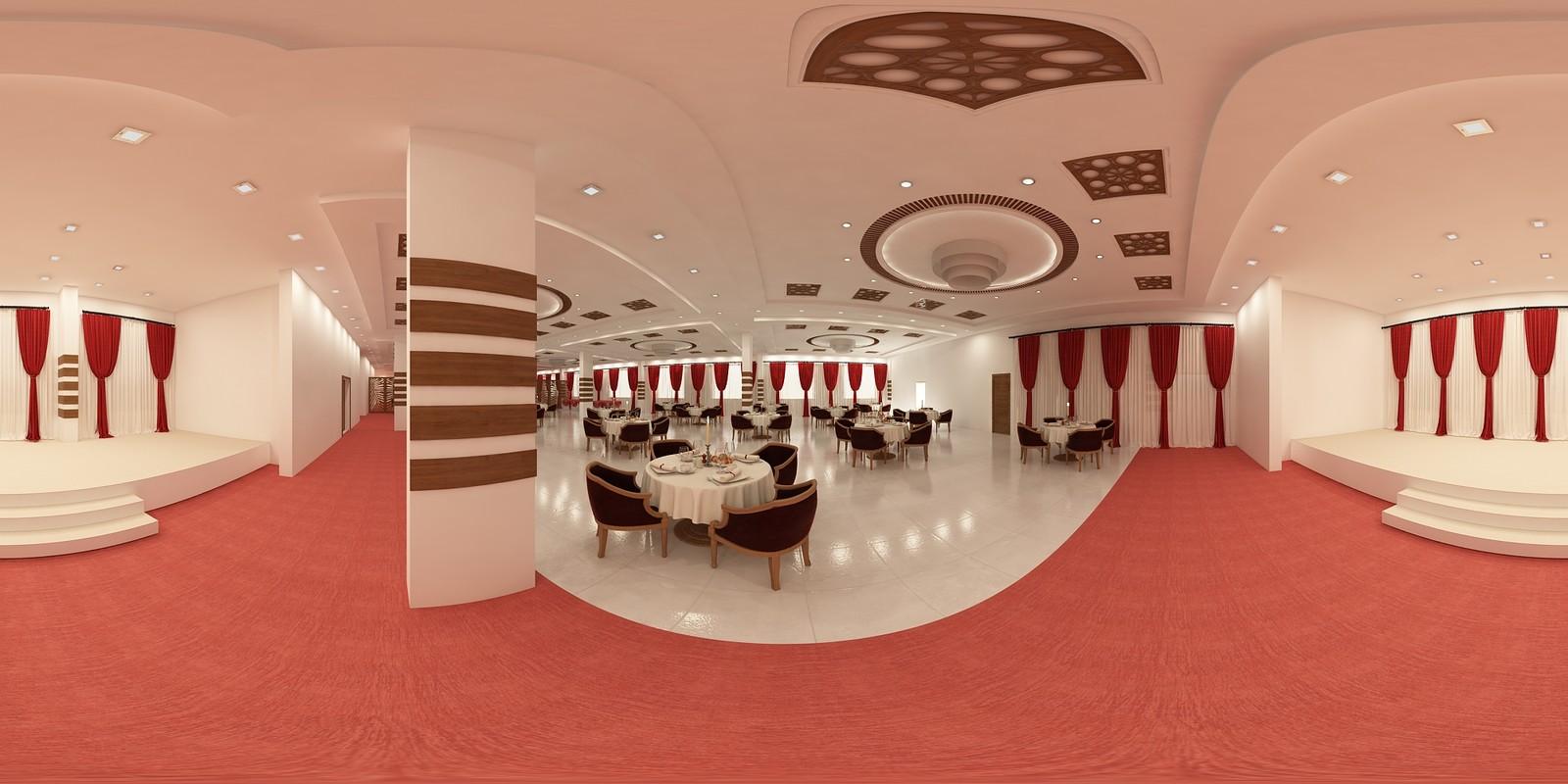 Event Hall 360 Panorama