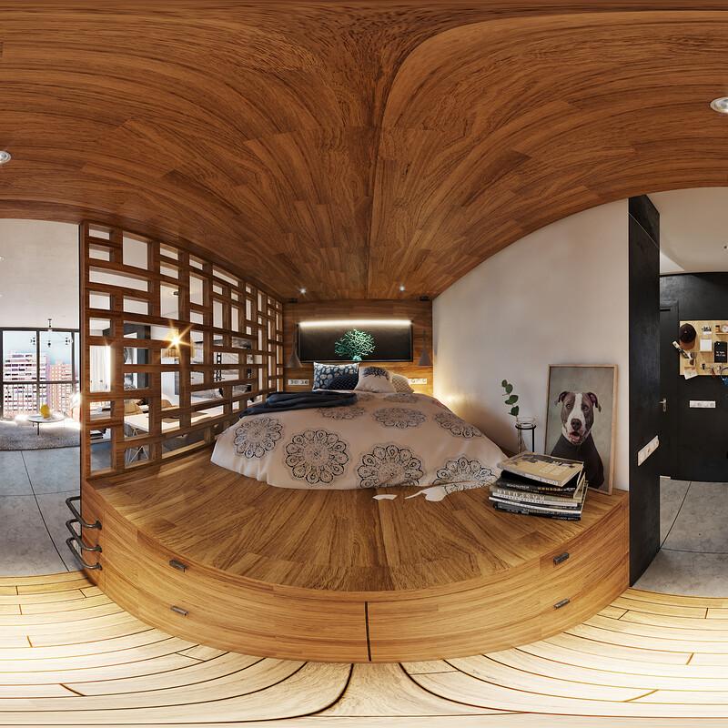 Comodoro Apartment bed zone
