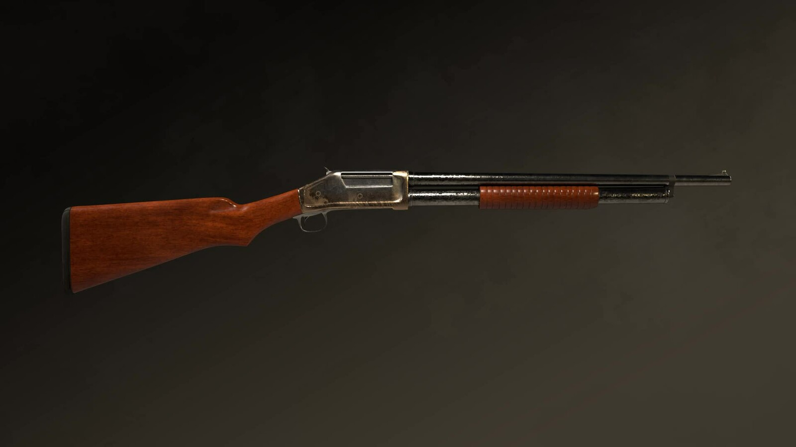 Winchester 1987 Pump-Action shotgun