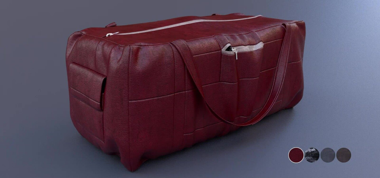 Duffle Bag - 3D model
