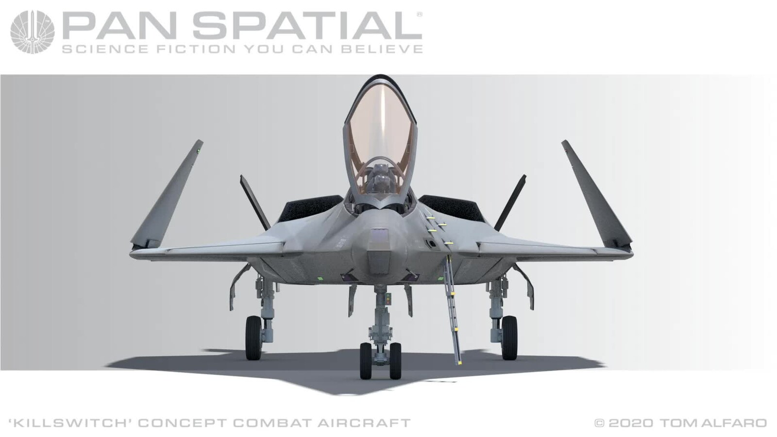 Killswitch Concept Combat Aircraft Part 7
