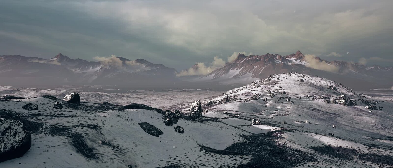 Winter Scene - Unreal Engine 4K Render