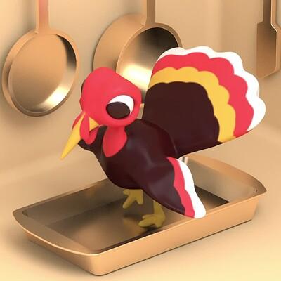 Motion Graphics | Turkey Animated Loop