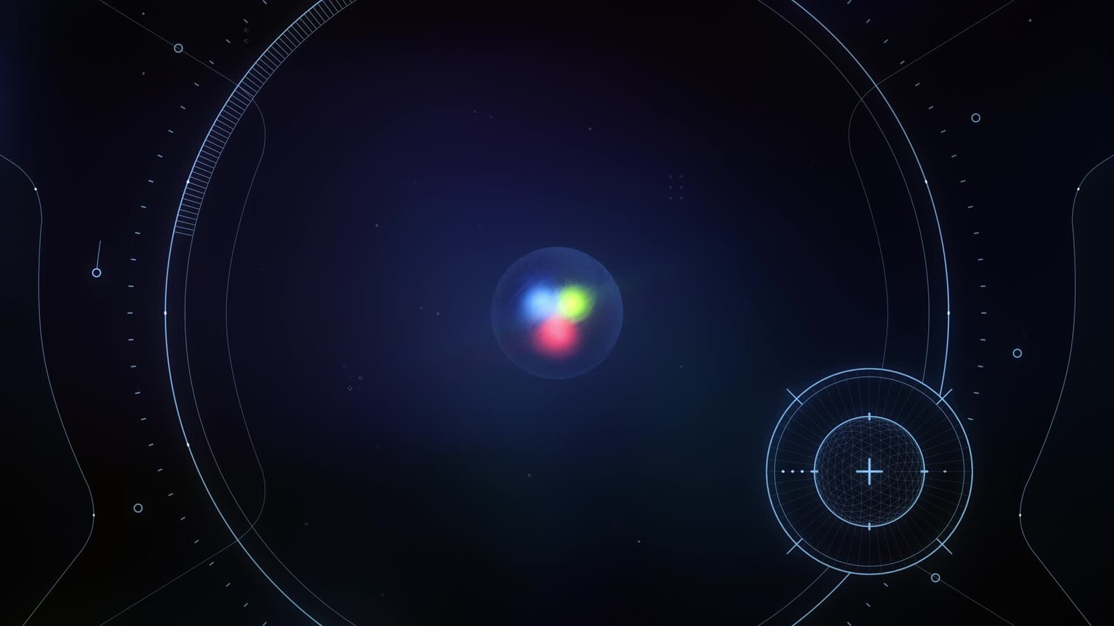 What's in a Proton? | Animated 3D Science Illustration & FUI