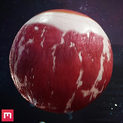 Fresh Meat Procedural Material