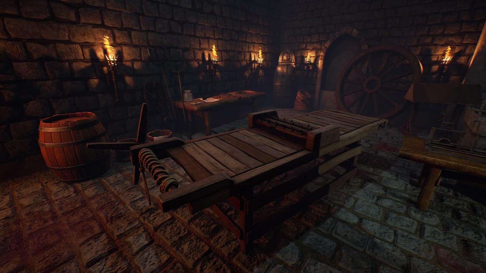 Inquisition Torture Dungeon