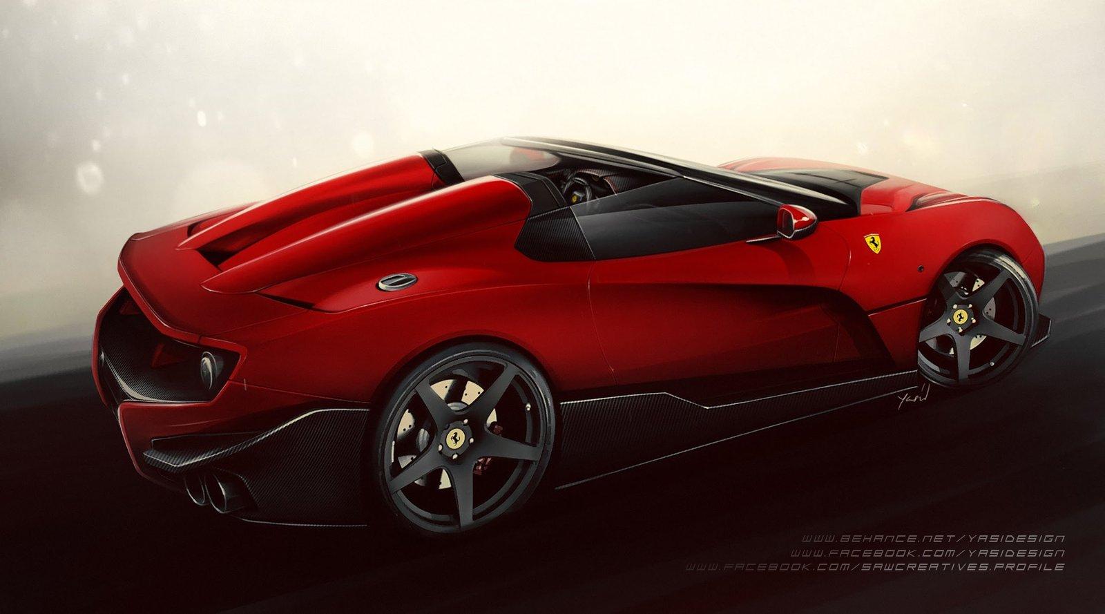 Ferrari close to F12 TRS