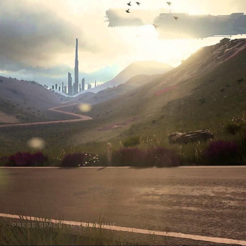 UE4 Scene - XENO-OSIRIS