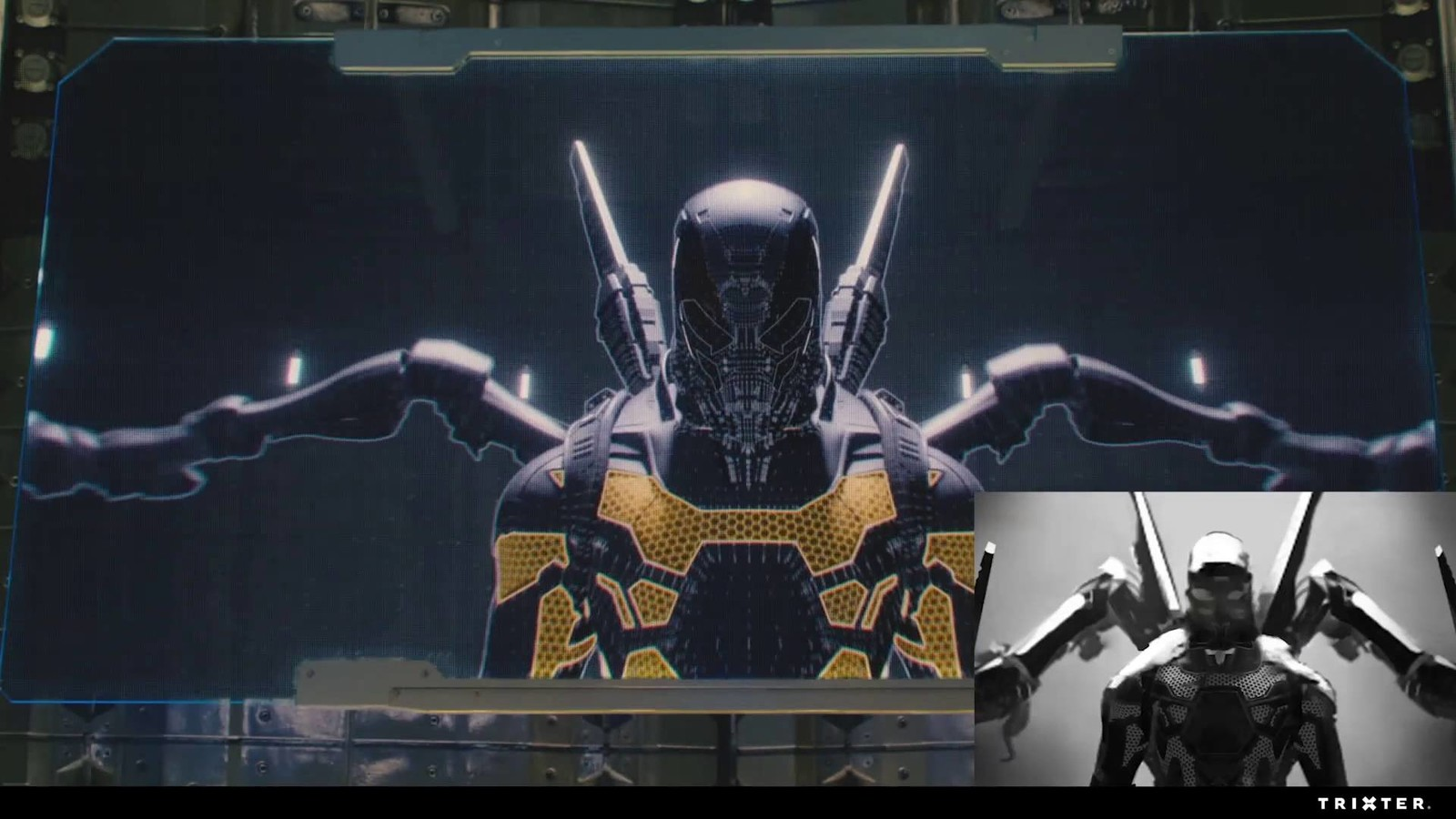 Ant-Man: YellowJacket's sizzle-reel, final storyboard