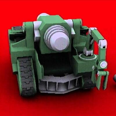 Bombard Warhammer 40k Rigging and animation