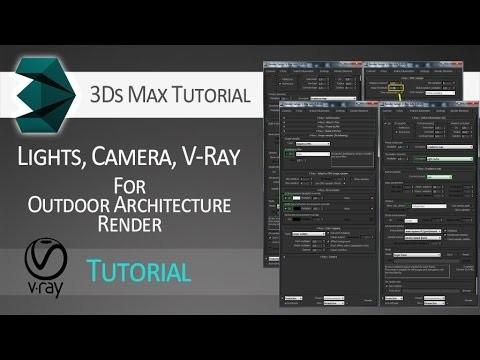 ArtStation - Lighting + Camera + V-Ray render settings for