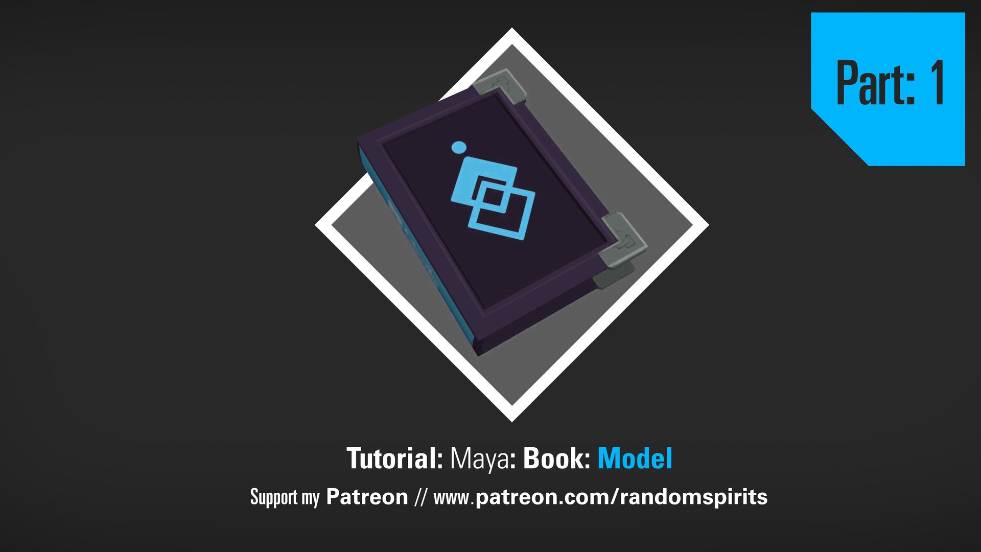 Low Poly Book Tutorial: Maya and Photoshop