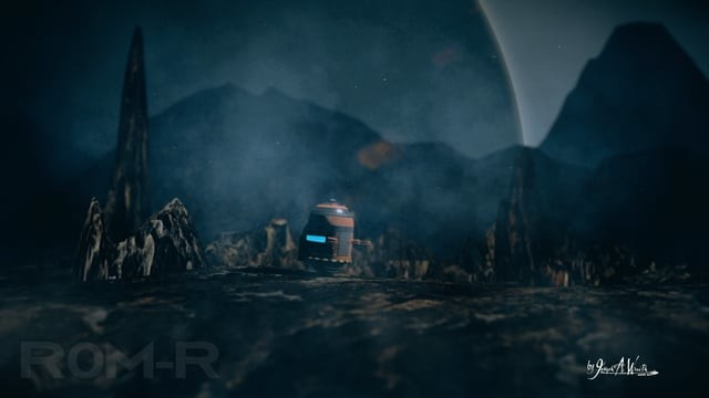 Outside Earth Series - Robot Character Scene Test