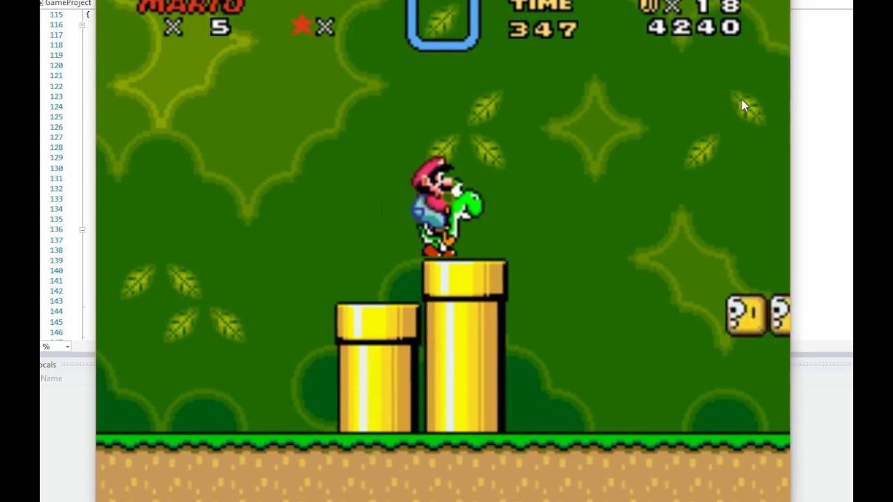 super mario world (game)
